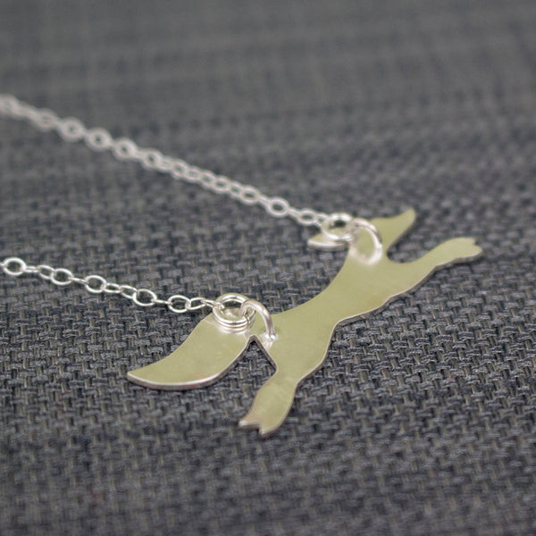 silver fox necklace from Joanne Tinley Jewellery