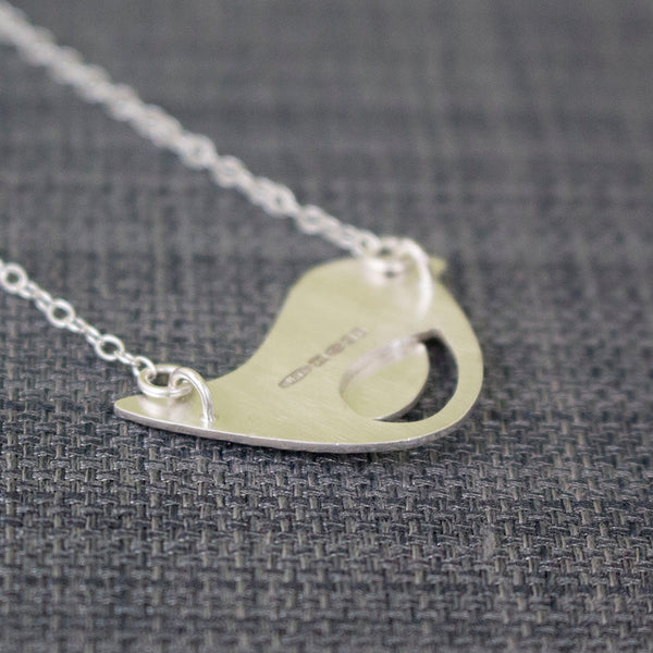 sterling silver bird necklace at Joanne Tinley Jewellery