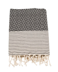 Fouta Frizzy not Fuzzy Black