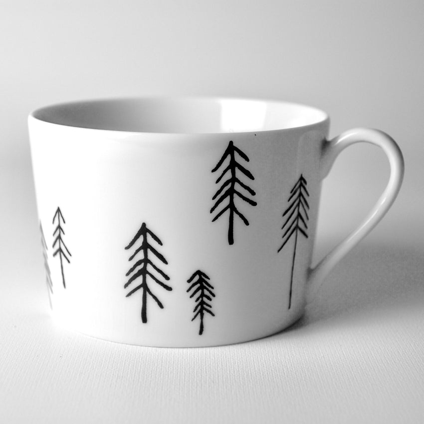 Tekopp Just my cup of tea - Fir fir fir / Black