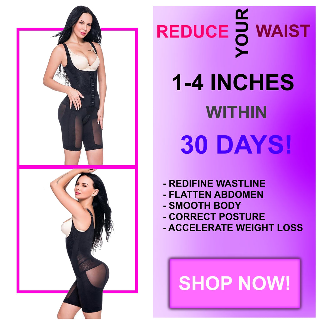 91b544199 2-in-1 Waist Cincher Trainer and Shapewear Plus Size 2-14 US – AJAMINO