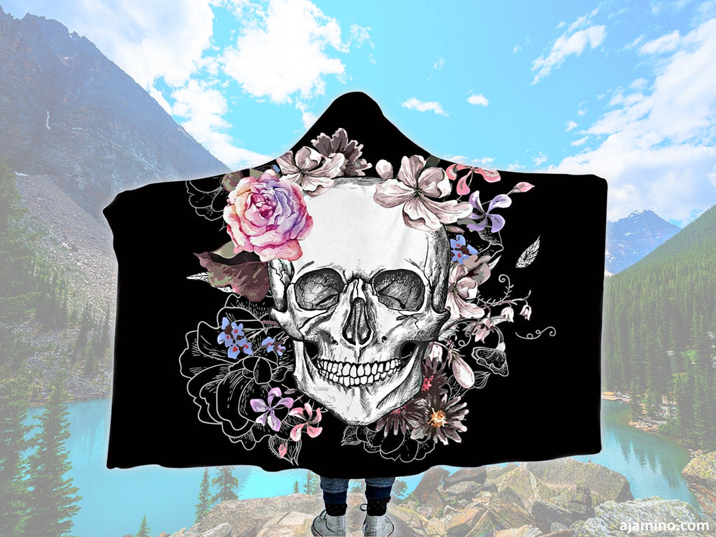 https://ajamino.com/collections/house-gadgets-more/products/sugar-skull-floral-hooded-fleece-blanket