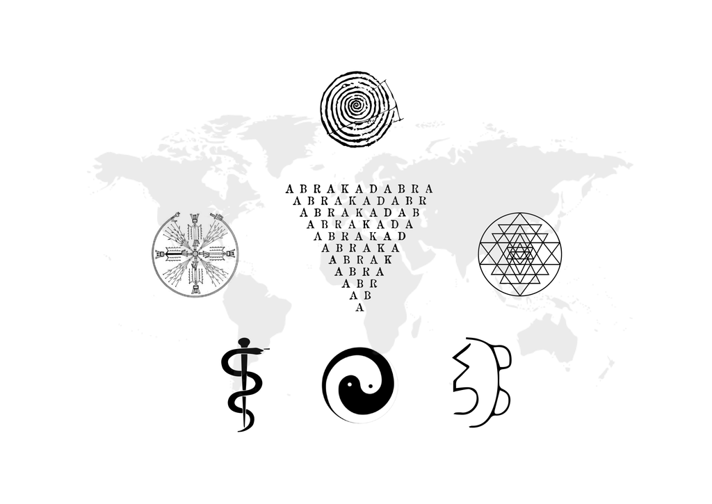 7 HEALING SYMBOLS FROM THE FOUR CORNERS OF THE WORLD