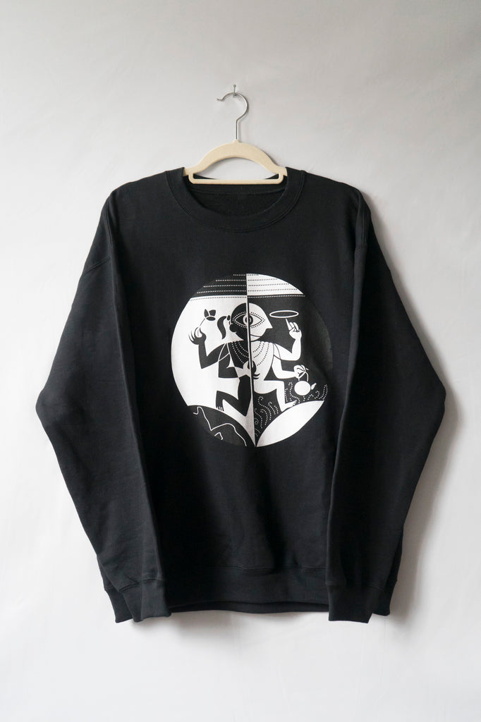 Vishnu The Protector Sweatshirt (Midnight)
