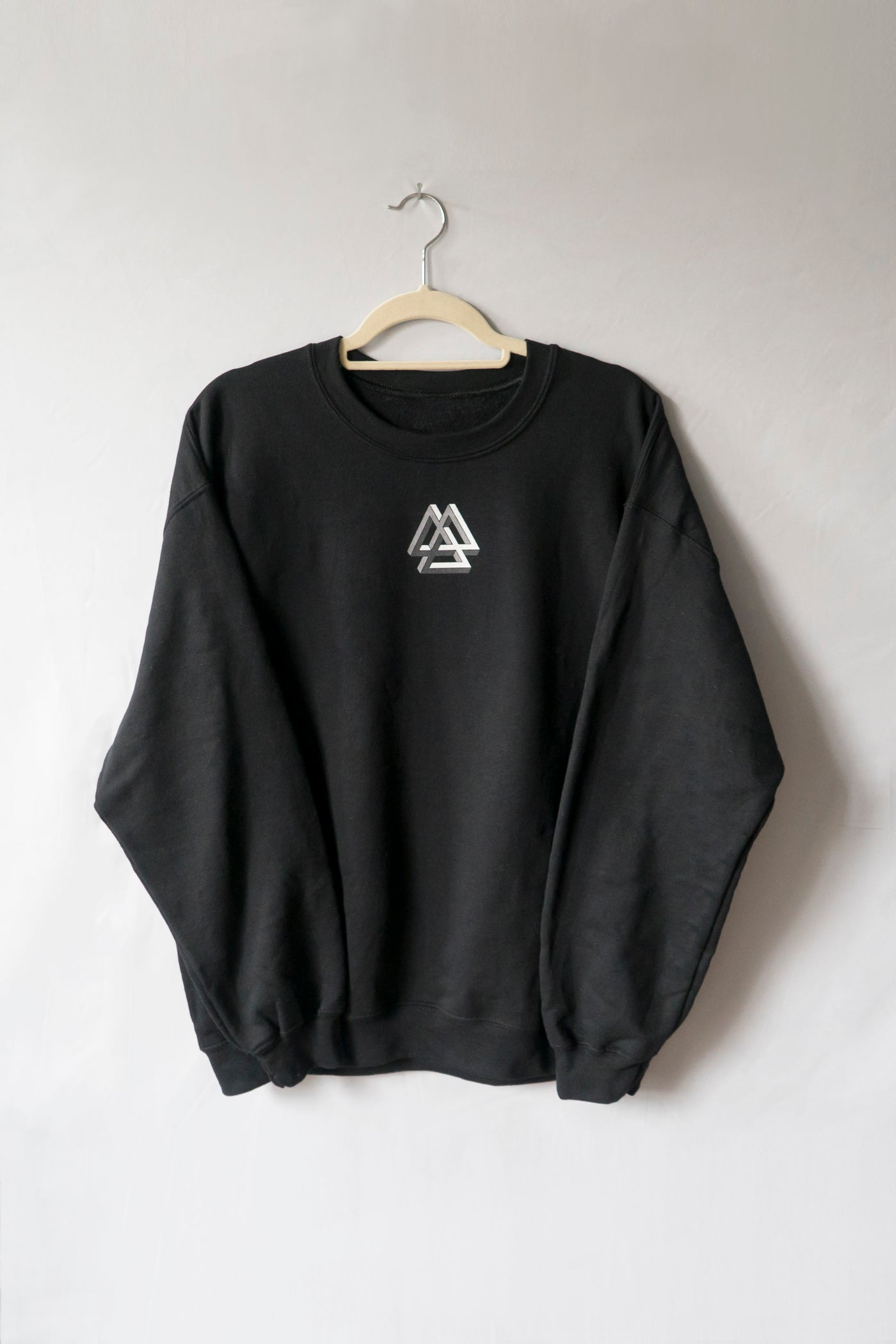 Valknut Viking Protection Symbol - Unisex Sweatshirt (Midnight)