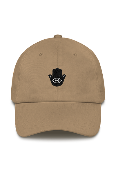 Embroidered Hamsa Unisex Dad Hat (Hazel)