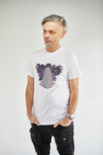 ANGELIC HEALING:  The Purple Flame - Short Sleeve Unisex T-Shirt