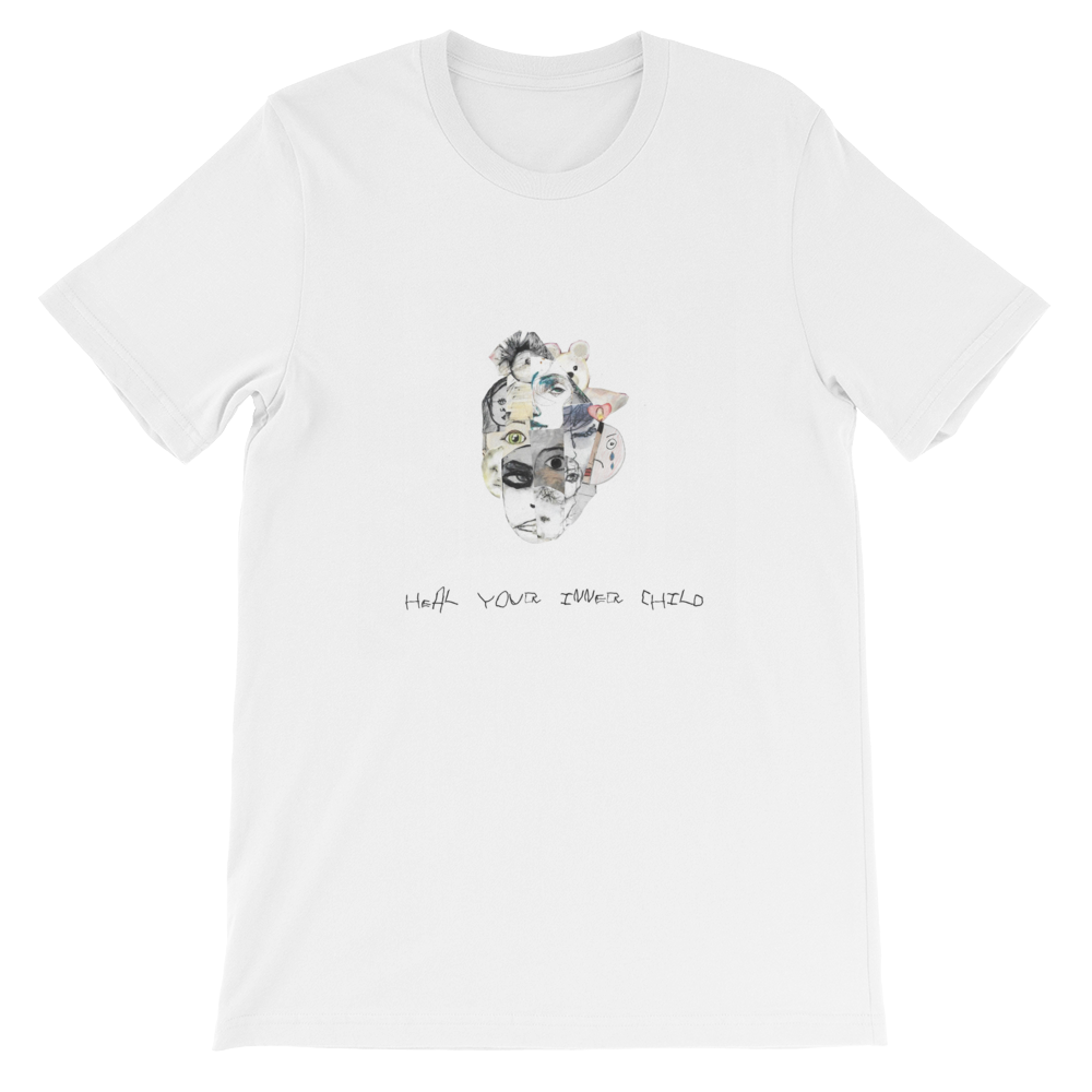 INNER CHILD WOUNDING:  Heal the Past -Sleeve Unisex T-Shirt