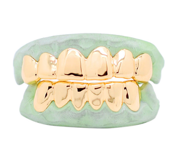 Perm Look top and bottom solid Grill - SD JEWELS