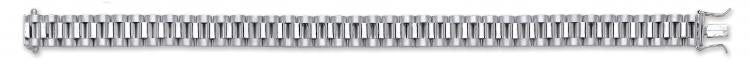 Silver Rolex Link Gents Bracelet - SD JEWELS