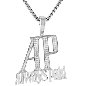 AP Always Paid Pendant with Chain - SD JEWELS