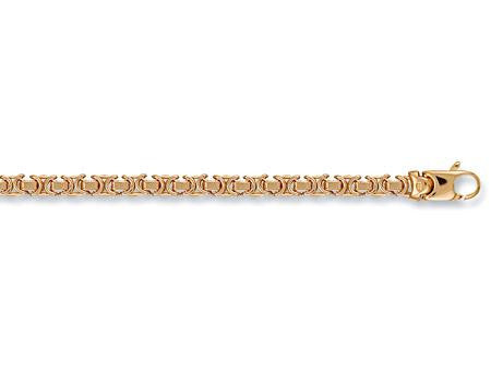 9ct Yellow Gold Flat Byzantine Chain 24inch 28.8g - SD JEWELS