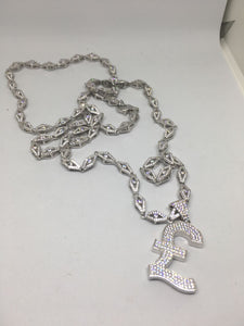 £ Sign Pendant and Chain Combo - SD JEWELS