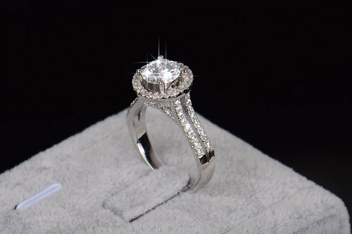 Charlotte - 925 Sterling Silver Ring