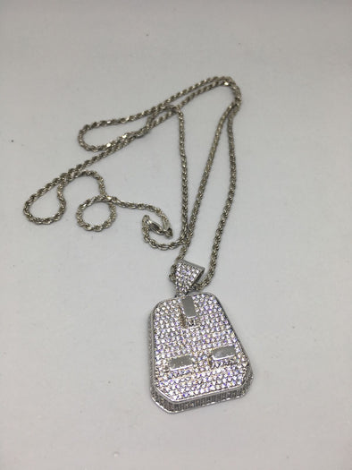 Plug Pendant and Chain Combo - SD JEWELS