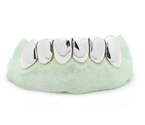 6 Deep Cut Perm Pullout Style Grillz - SD JEWELS