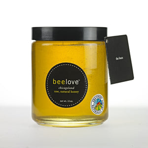 beelove® 12 oz. chicagoland raw natural honey