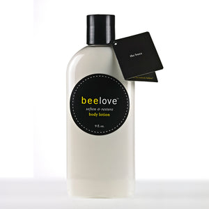beelove® soften & restore body lotion - 8.5 oz