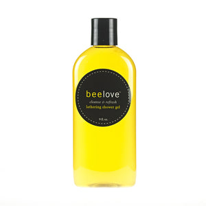 beelove® cleanse & refresh lathering shower gel - 8.5 oz.