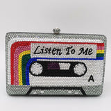 LISTEN TO ME CASSETTE TAPE CLUTCH