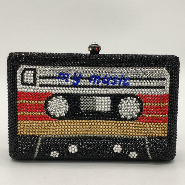 MY MUSIC CASSETTE TAPE CLUTCH