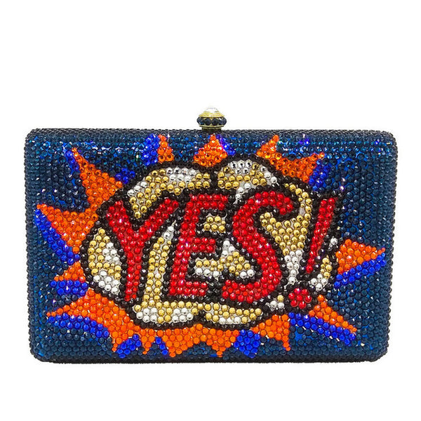 SAY YES CASSETTE TAPE CLUTCH