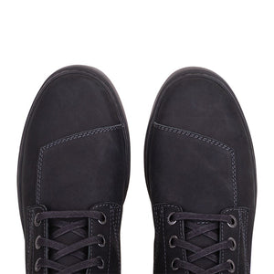 Men's Leather Bryant Sneaker, Black