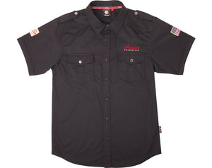 Men's Casual Shirt - Black by Indian Motorcycle