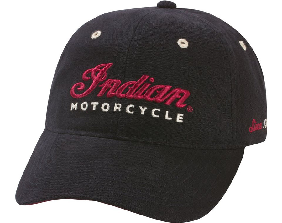 Logo Hat - Black by Indian Motorcycle