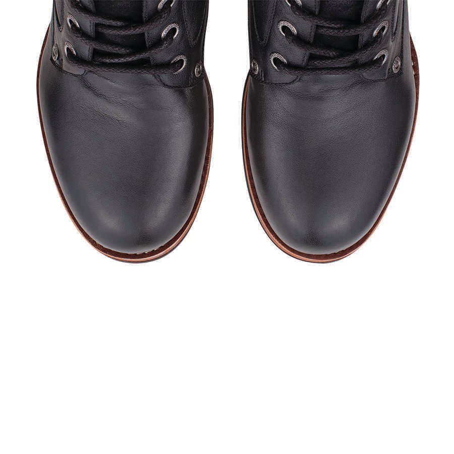 Men's Black Classic Lace Up