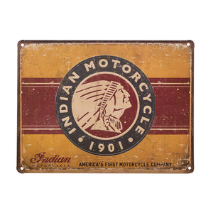 First Motorcycle Sign by Indian Motorcycle®