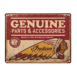 Genuine Parts Accessories Sign by Indian Motorcycle®