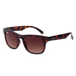 Casual Phoenix Sunglasses with Tortoise Shell Frame, Black