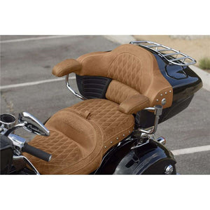 Genuine Leather Passenger Armrest Pads in Desert Tan, Pair