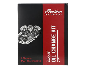 Scout® Oil Change Kit 15W-60 4 Qt. Genuine OEM Part