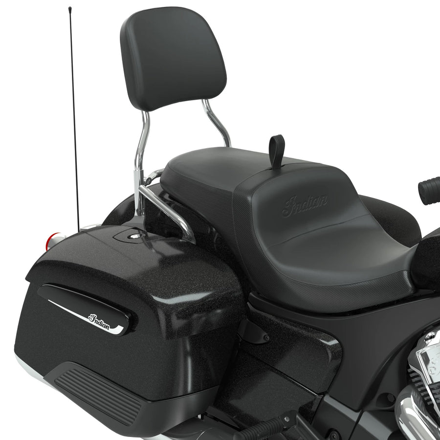Steel 12 in. Universal Quick Release Passenger Sissy Bar