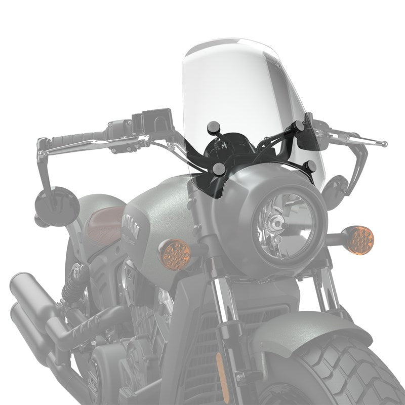 Mid Wind Deflector, Tinted (Scout Bobber)