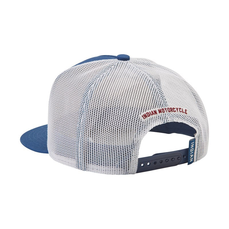 Burt Munro Trucker Hat, Blue