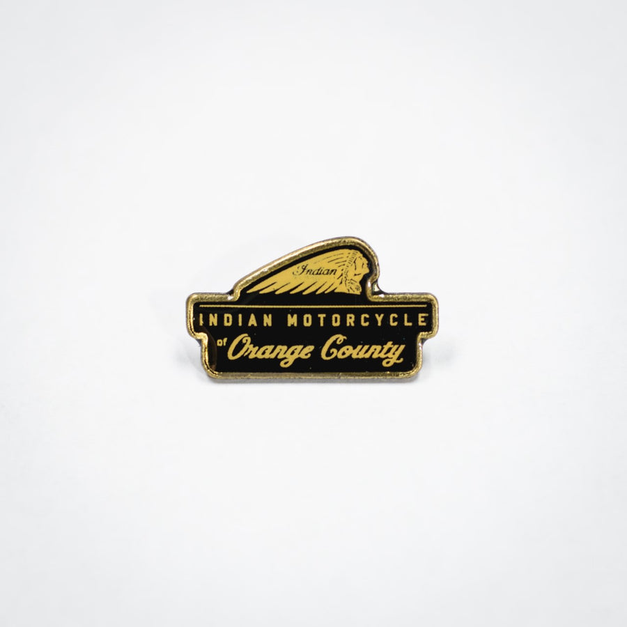 INDIAN MOTORCYCLE OF ORANGE COUNTY DEALER PIN