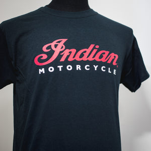 INDIAN MOTORCYCLE OF ORANGE COUNTY BLACK DEALER TEE (INDIAN MOTORCYCLE SCRIPT))