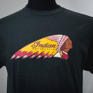 INDIAN MOTORCYCLE OF ORANGE COUNTY WARBONNET BLACK DEALER TEE