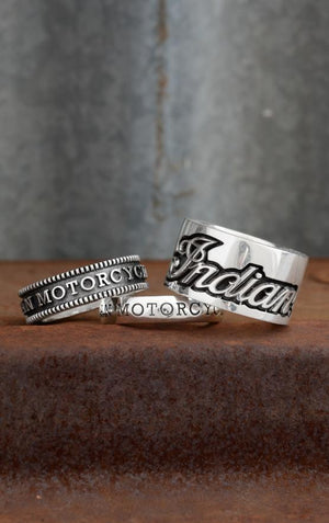 Indian Logo Stackable Band
