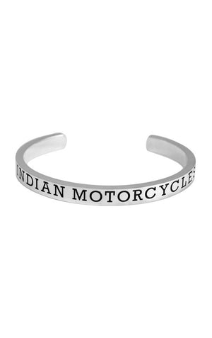 Indian Engraved Logo Cuff