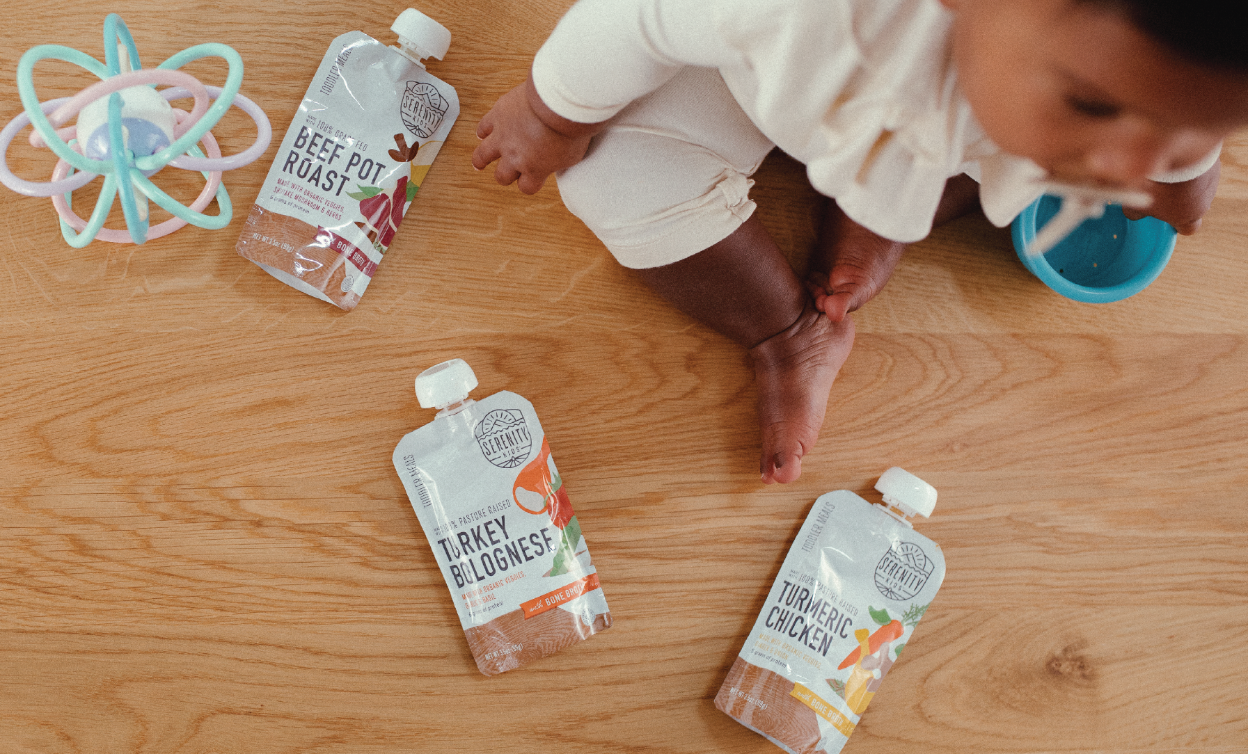 Serenity Kids Launches New Line of Toddler Purees with Bone Broth Nationwide