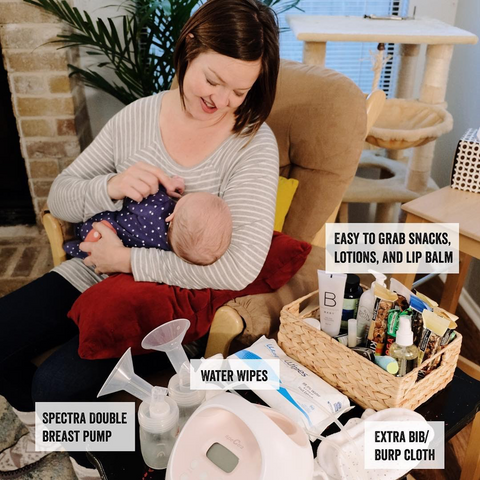 Parenting Hacks - Well Stocked Nursing Table
