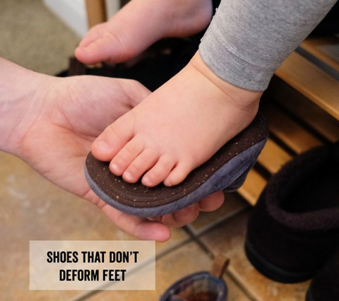 Serenity Kids Parenting Hack - Shoes that don't deform feet