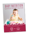 DOWNLOAD OUR FREE BABY NUTRITION E-BOOK
