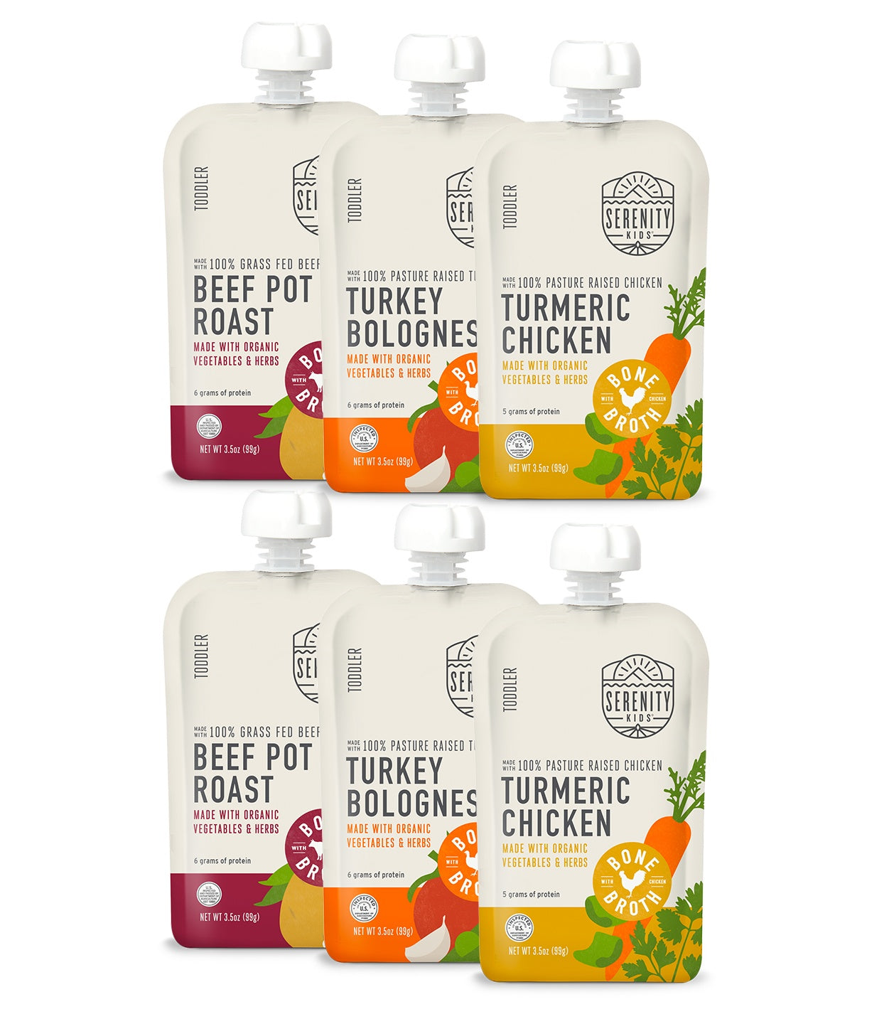 Baby Food - Bone Broth Variety Pack
