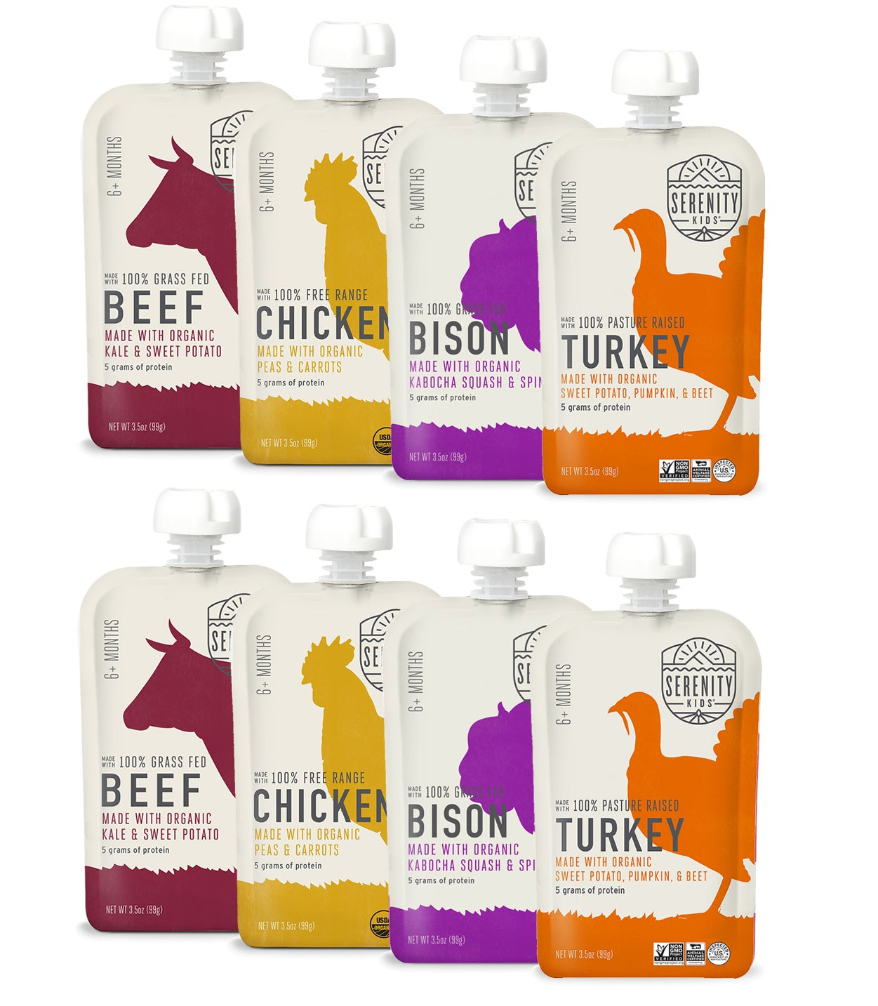 Baby Food - Ethically Sourced Meats Variety Pack