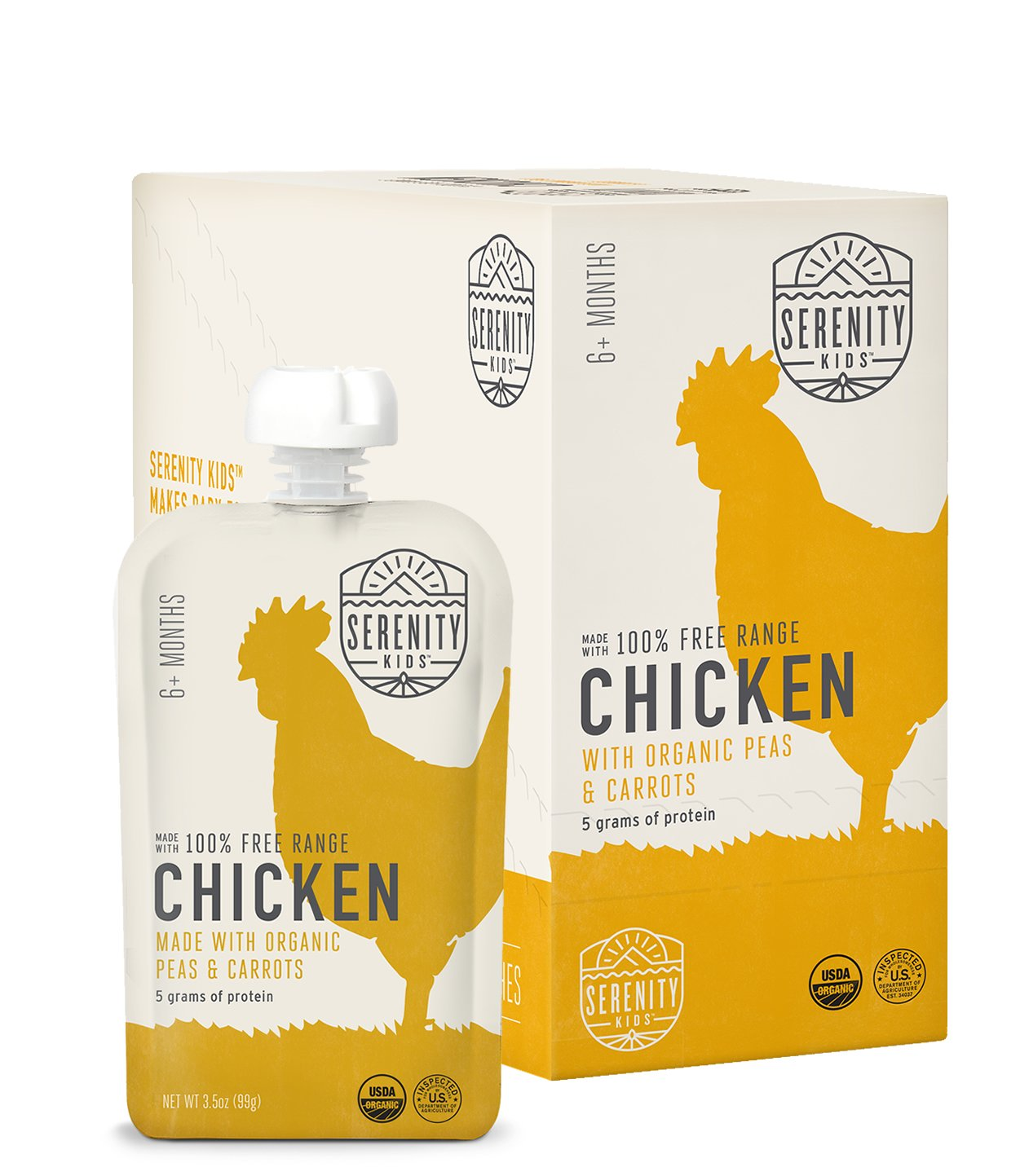 Serenity Kids Free Range Chicken Baby Food
